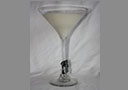 Martini Glass Soy Candle Med
