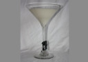 Martini Glass Soy Candle Medium