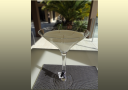 Martini Glass soy candles - medium